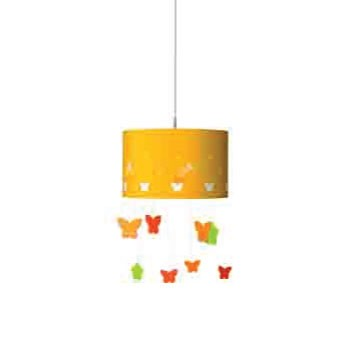 40427 Pendant Yellow E27