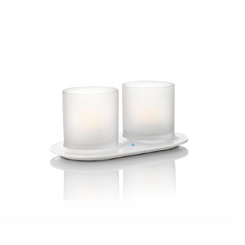 69184 Naturelle Candlelights 2 Set